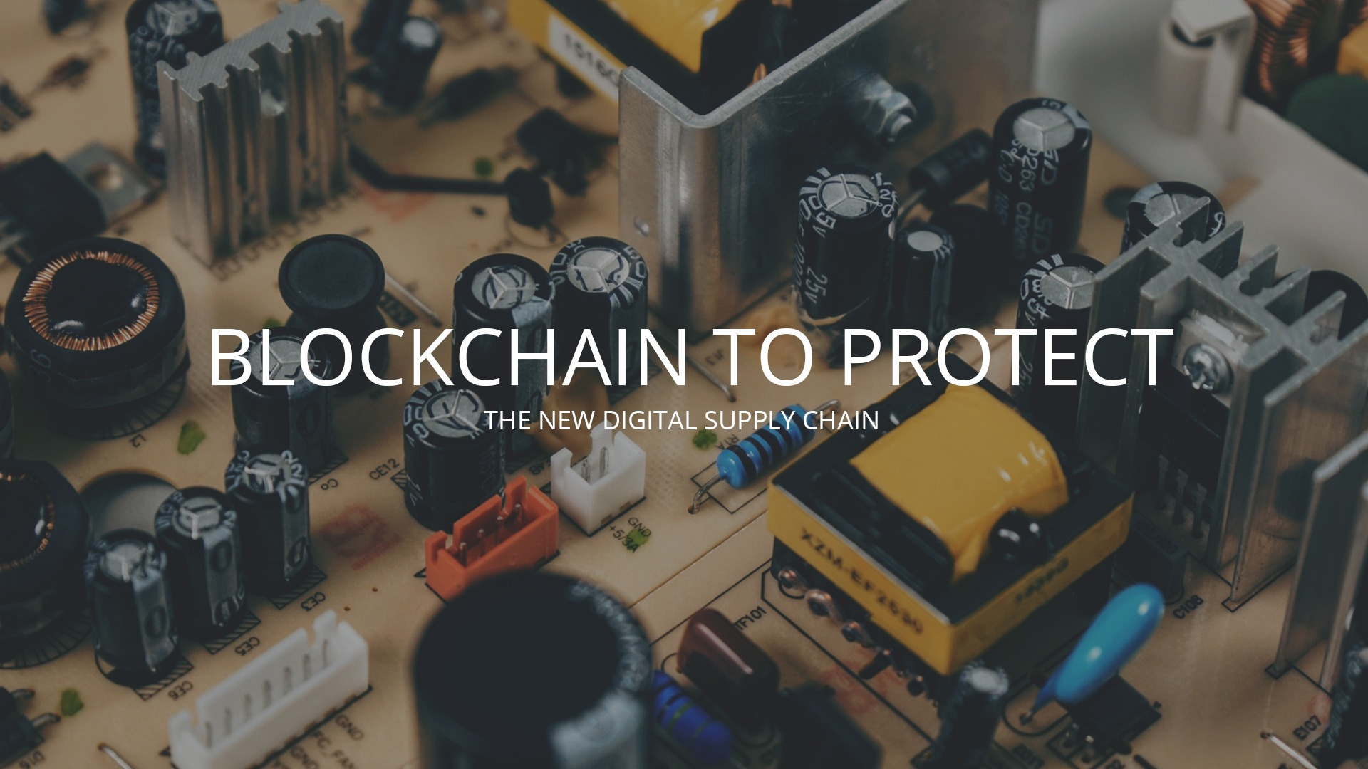 Blockchain to Protect data