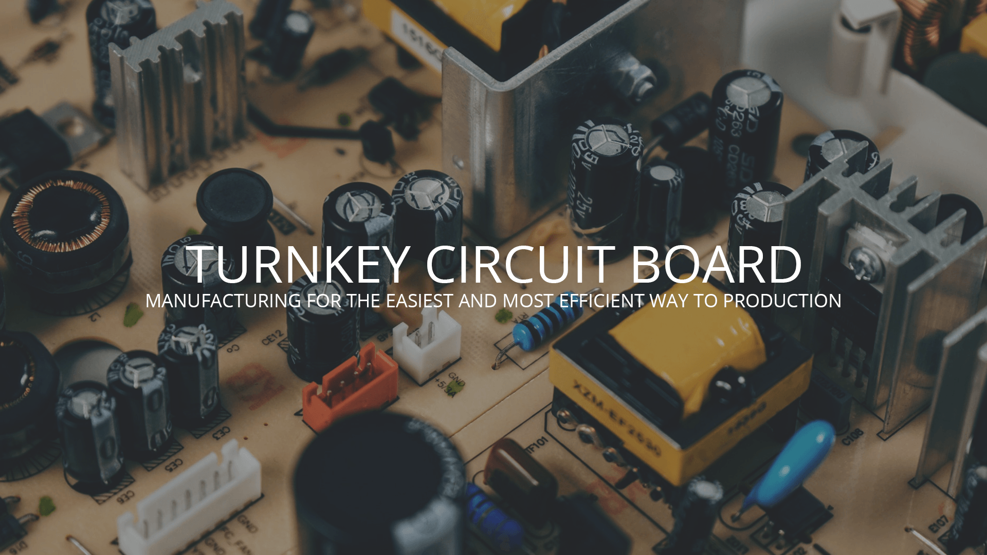 Turnkey Circuit Board Manufacturing