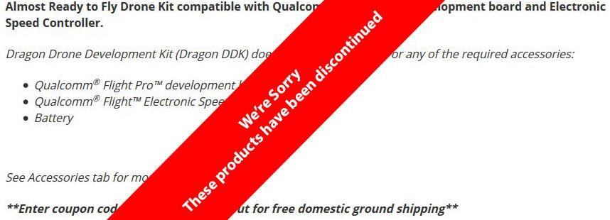 Dragon Drone Development Kit